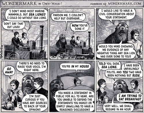 Sealion-Comic
